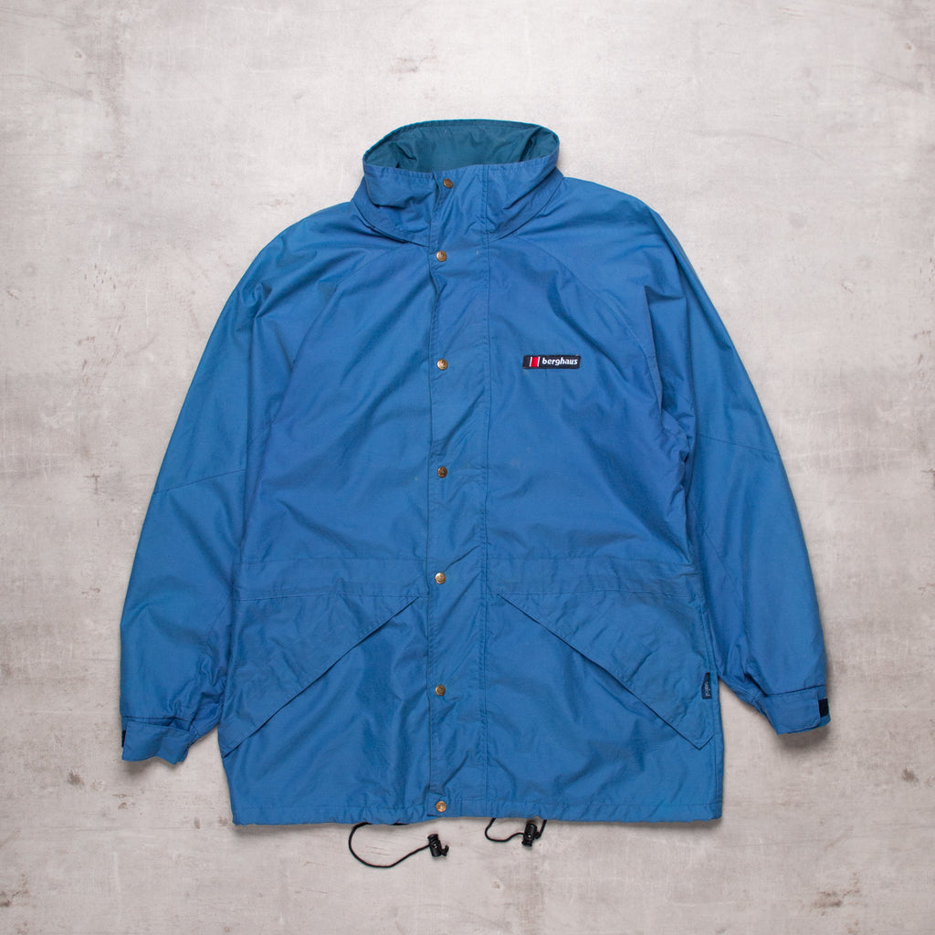 Vintage Berghaus Deep Blue Windbreaker (M)