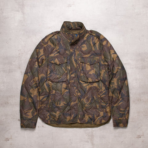 Modern Ralph Lauren Light Camo Puffer Jacket (M)