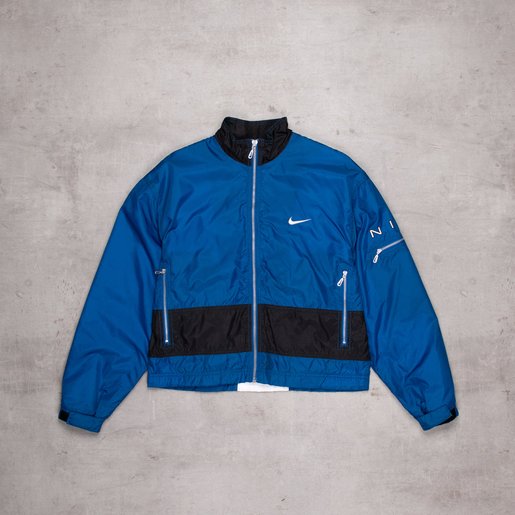 90s Nike Cropped Windbreaker (Ladies M)