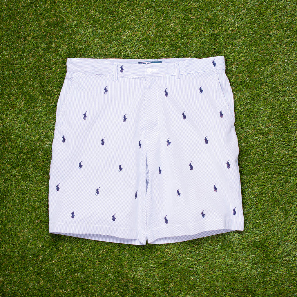 90s Ralph Lauren All Over Pony Shorts (34 - 36)
