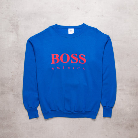 90s Boss America Sweat (M/L)