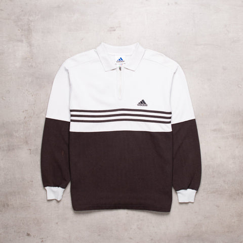 90s Adidas Contrast Pull Over (S)