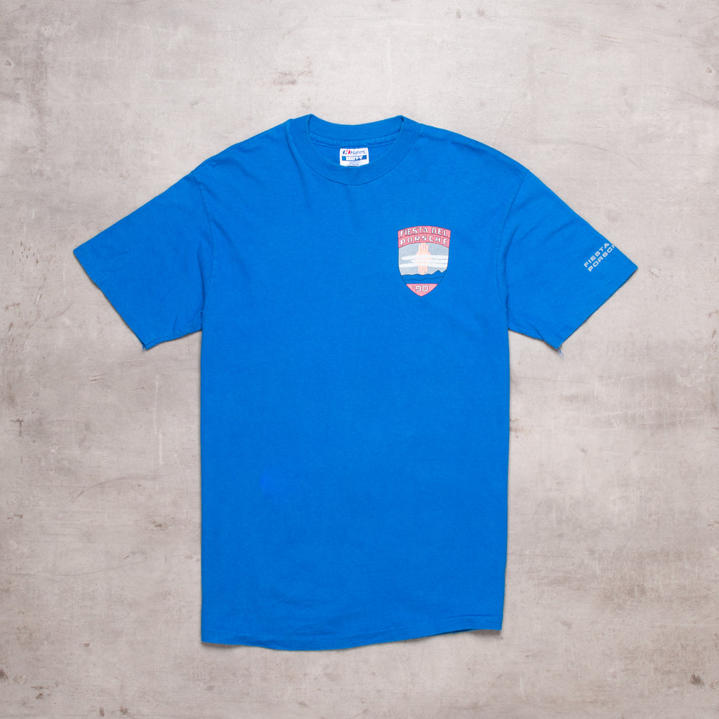 90s Porshe Pocket Spell Out Tee (S/M)