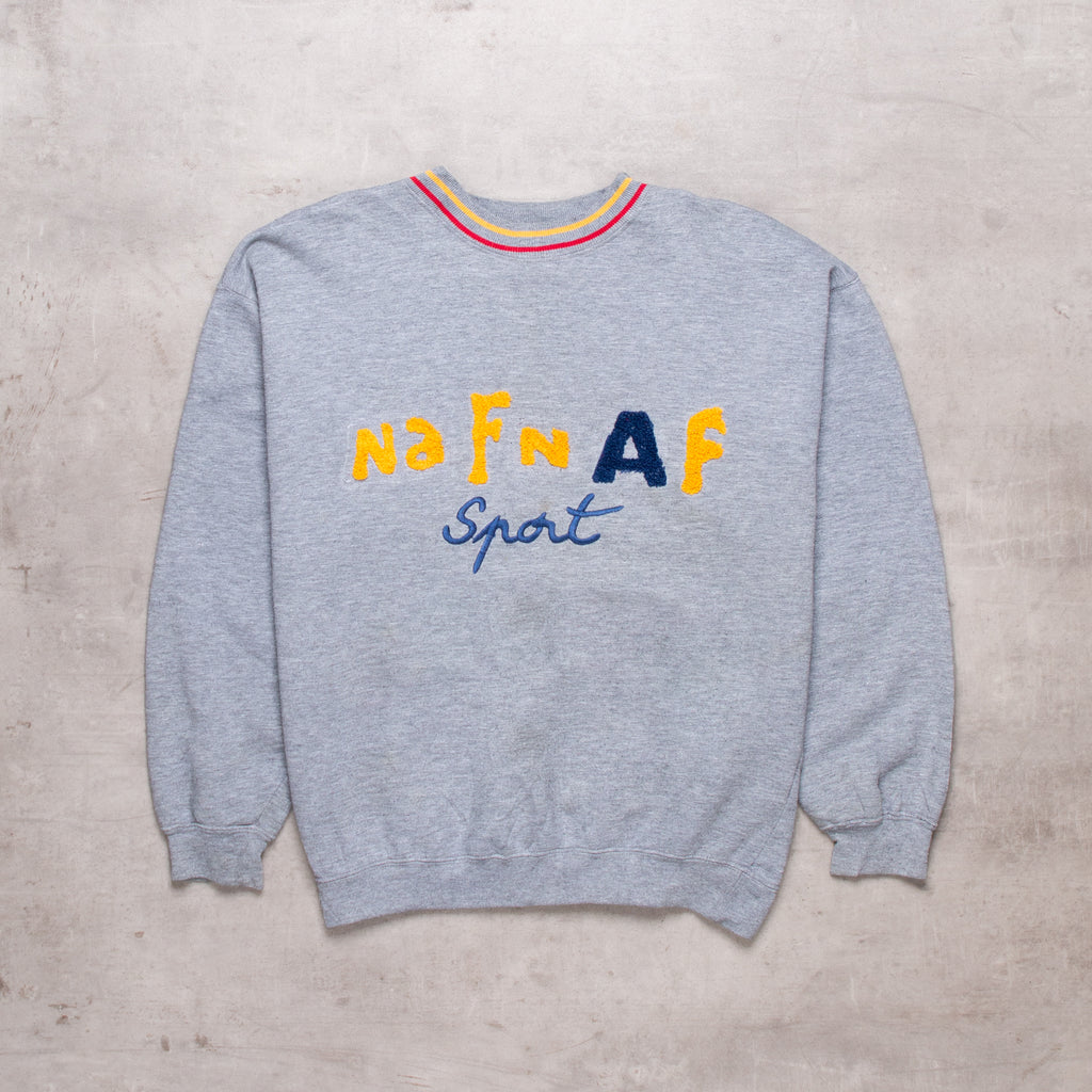 90s Naf Naf Spell Out Sweat (S)