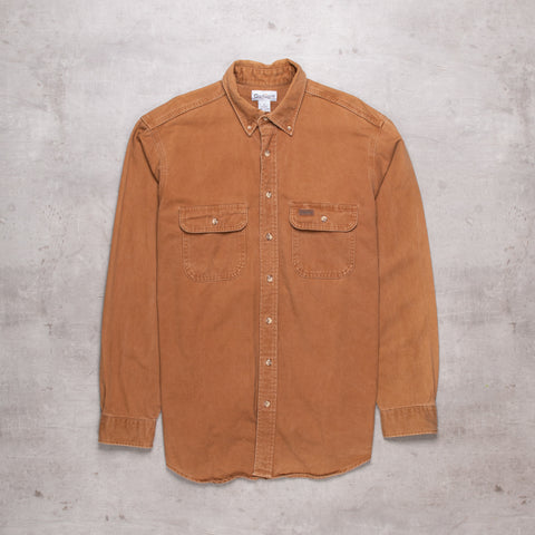 Vintage Carhartt Caramel Denim Shirt (L Tall)
