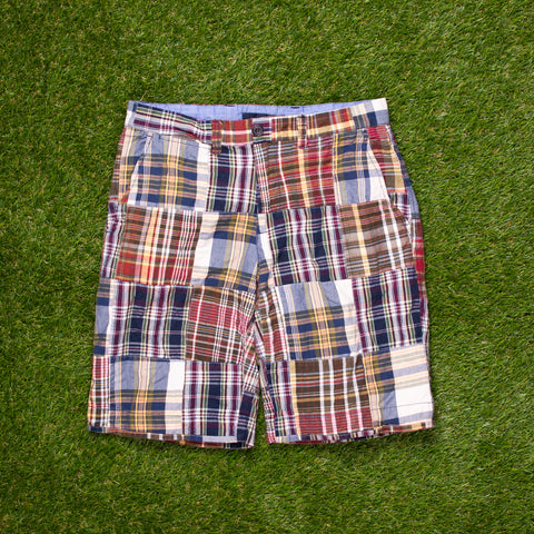 00s Tommy Hilfiger Madras Shorts (28 - 30)