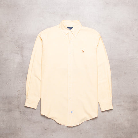 90s Ralph Lauren Yellow Shirt (S)