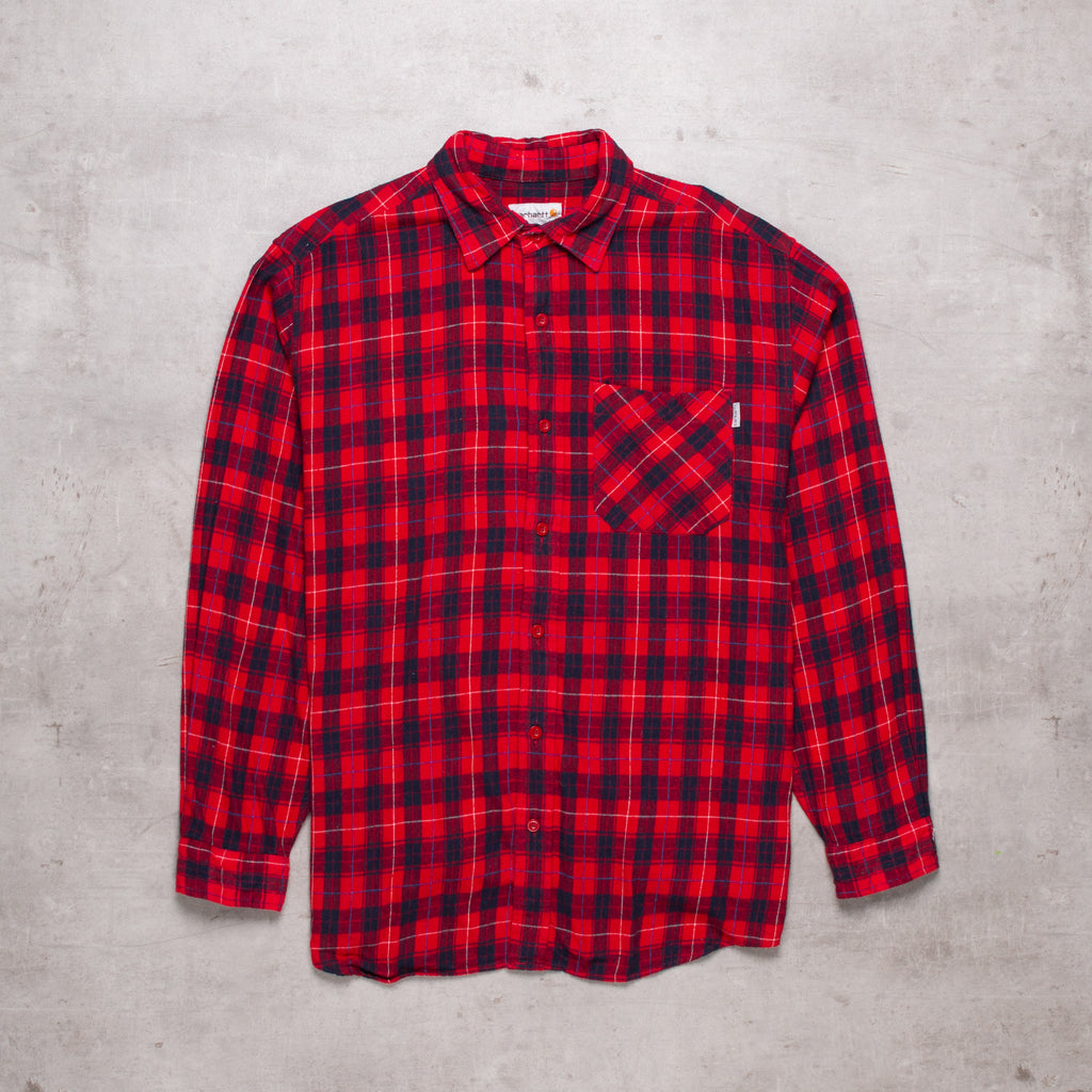 Vintage Carhartt Buffalo Plaid Shirt (L)