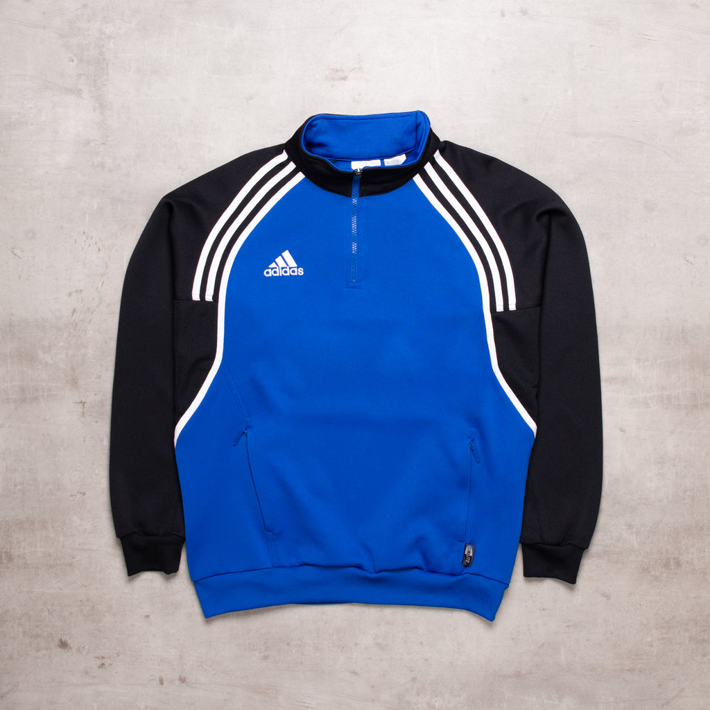 90s Adidas Colour Block Pull Over (M)