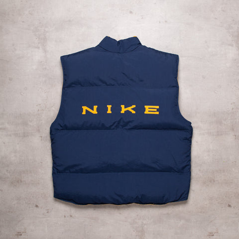90s Nike Spell Out Reversible Gillet (XXL / 3XL)