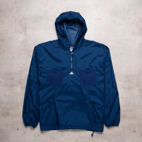 90s Adidas Navy Pull Over (XL)