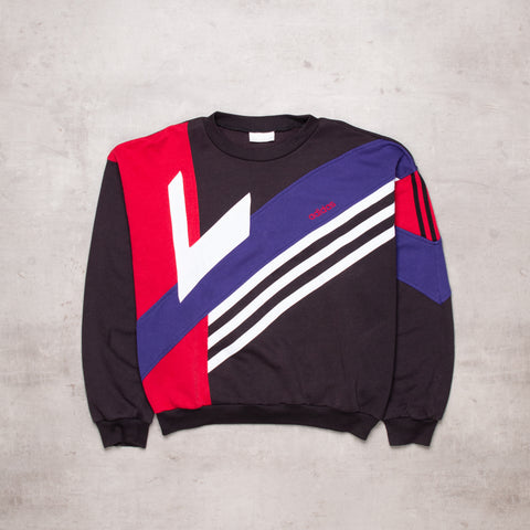 90s Adidas Colour Block Sweat (M / L)