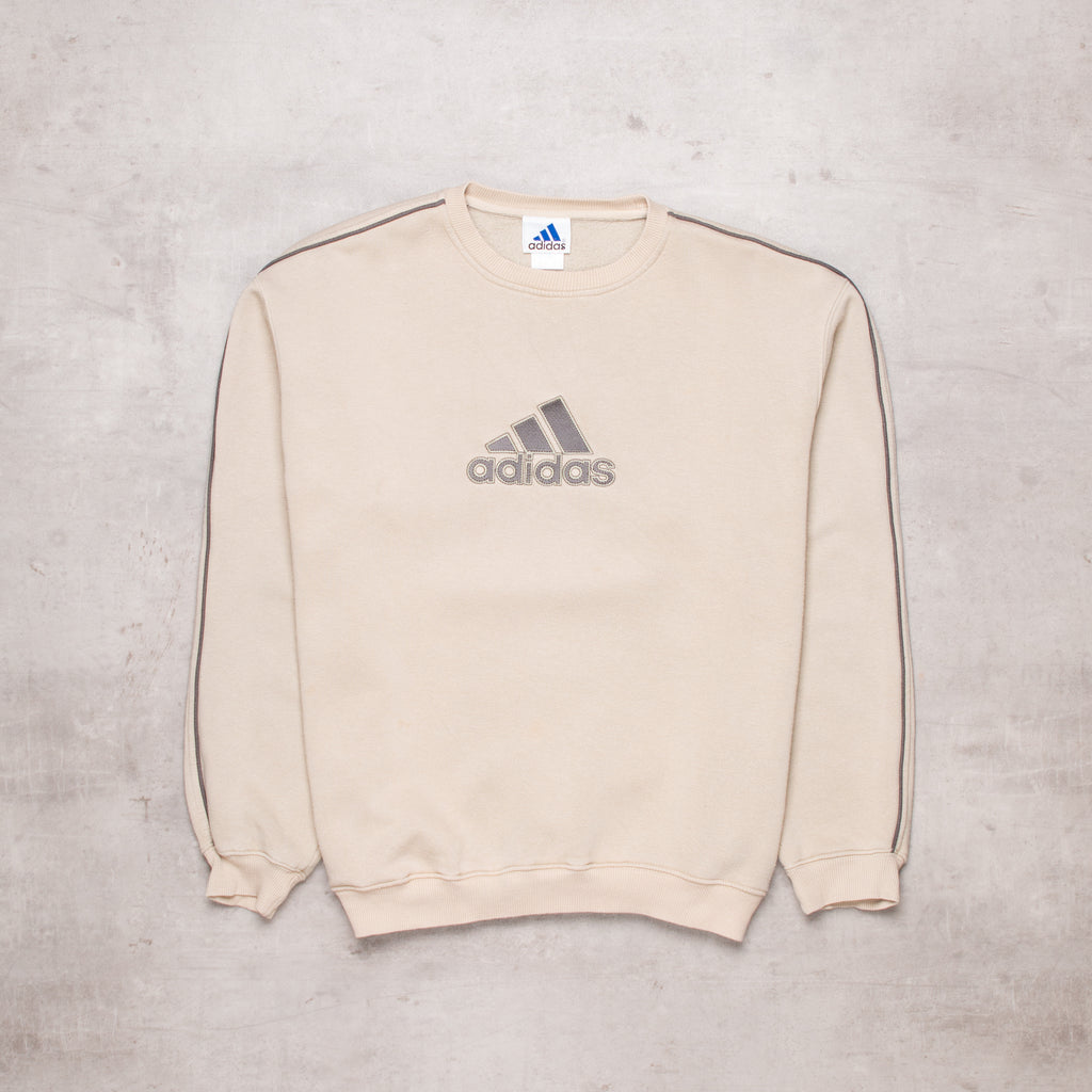 90s Adidas Spell Out Sweat (M)