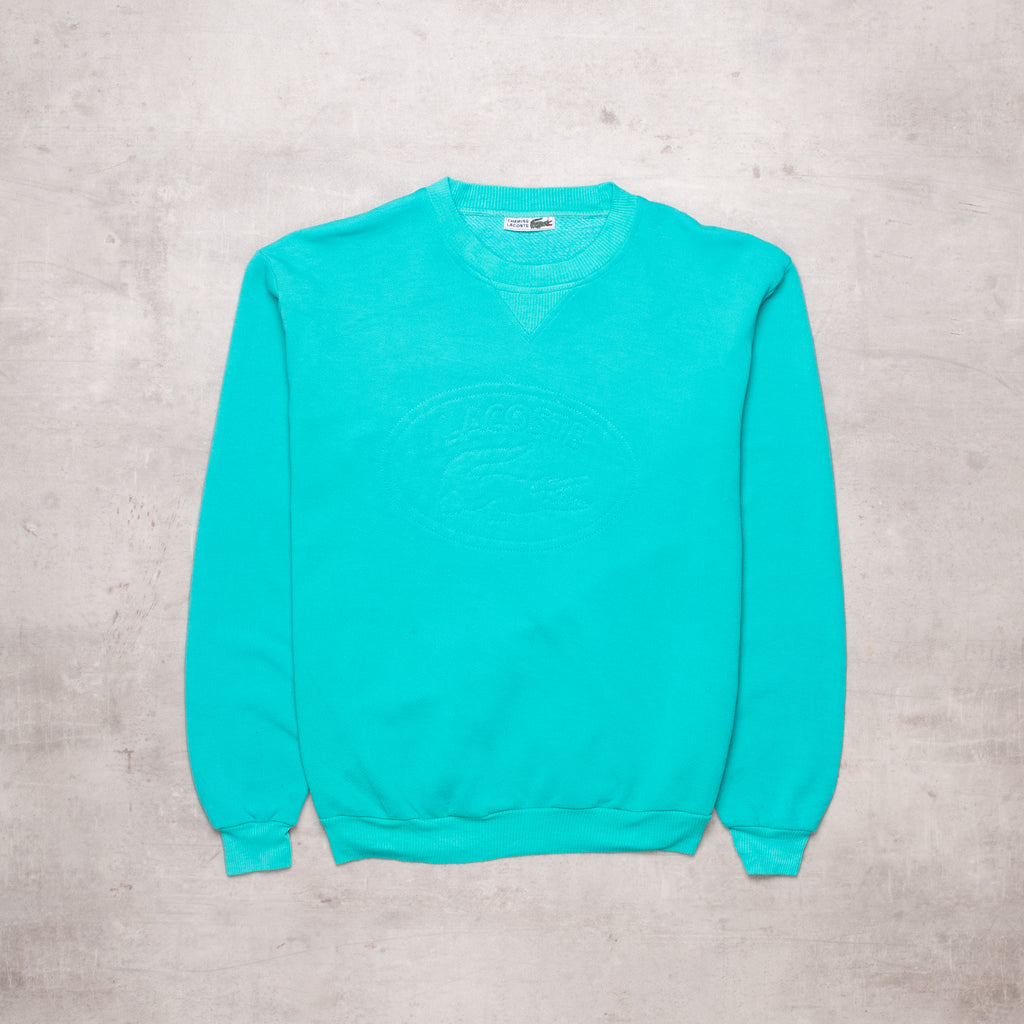 Vintage Lacoste Deep Teal Sweat (S)