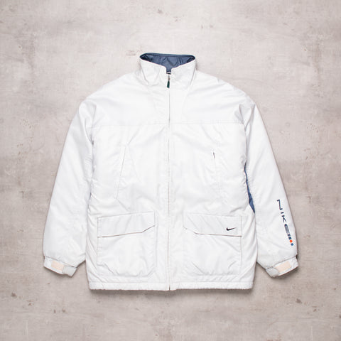 90s Nike White Out Jacket (M)