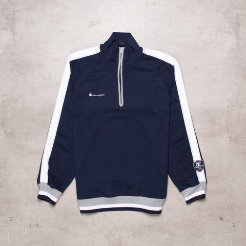Vintage Champion Pocket Spell Out Quarter Zip (L)