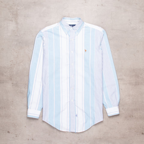 90s Ralph Lauren Striped Shirt (M)