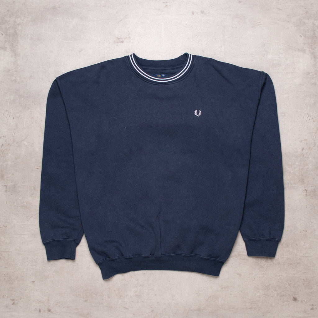 Vintage Fred Perry Pocket Logo Sweat (XXL)