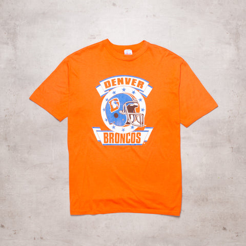 90s Denver Broncos Football Tee (L / XL)
