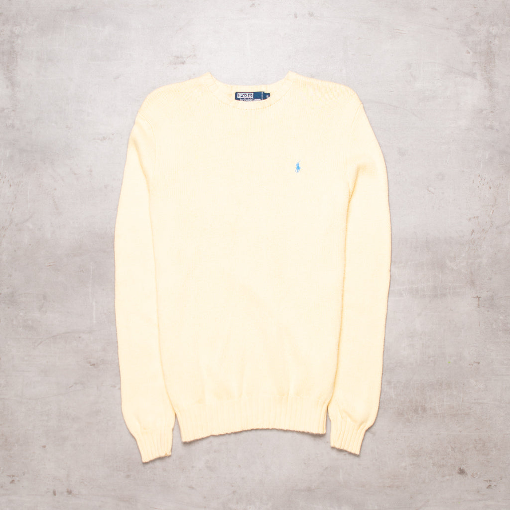 90s Ralph Lauren Pocket Logo Sweater (S)