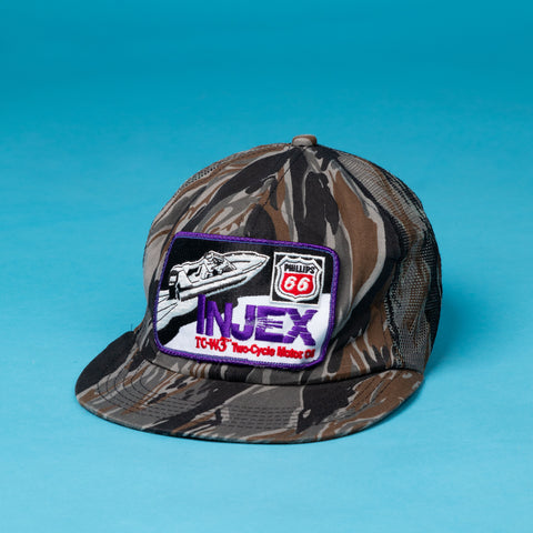 Vintage Camo Patch Cap