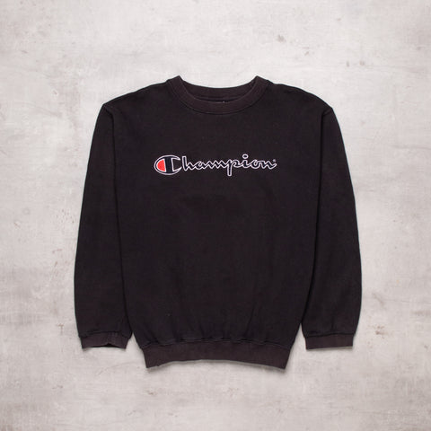 Vintage Champion Spell Out Sweat (XS / Ladies)