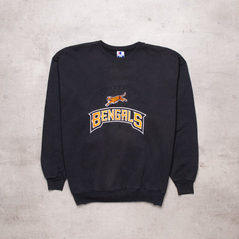 Vintage Champion Bengals Embroidered Sweat (M)