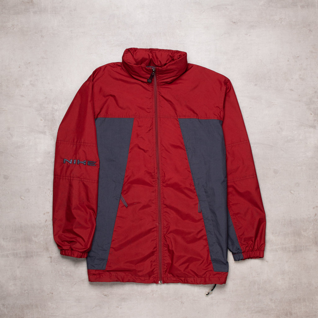 00s Nike Burgundy Windbreaker (L)