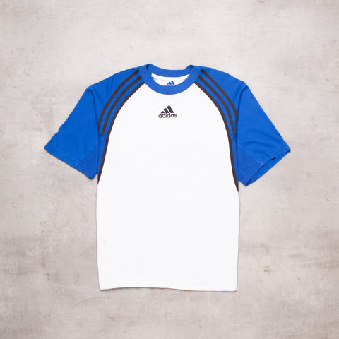 90s Adidas Centre Spell Out Tee (M)