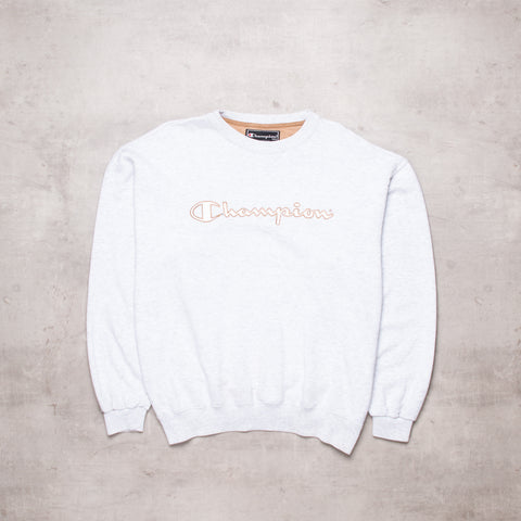 Vintage Champion Spell Out Sweat (L/XL)