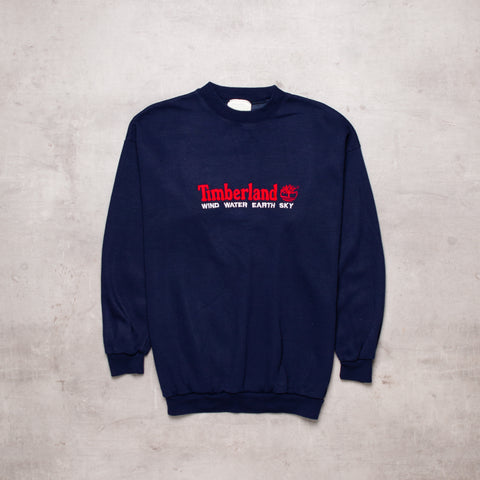Vintage Timberland Bootleg Spell Out Sweat (S)