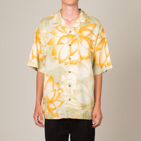 Vintage Silk Vacation Shirt (L/XL)