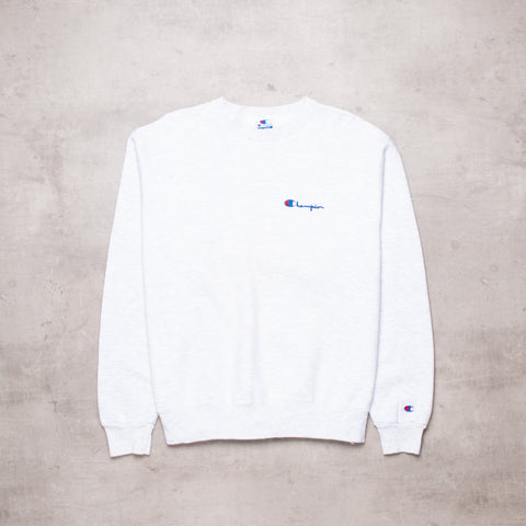 Vintage Champion Pocket Spell Out Sweat (L)