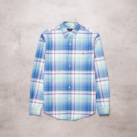 Modern Ralph Lauren Plaid Shirt (S)