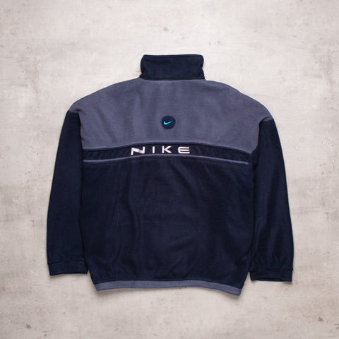 90s Nike Bootleg Spell Out Fleece (L)