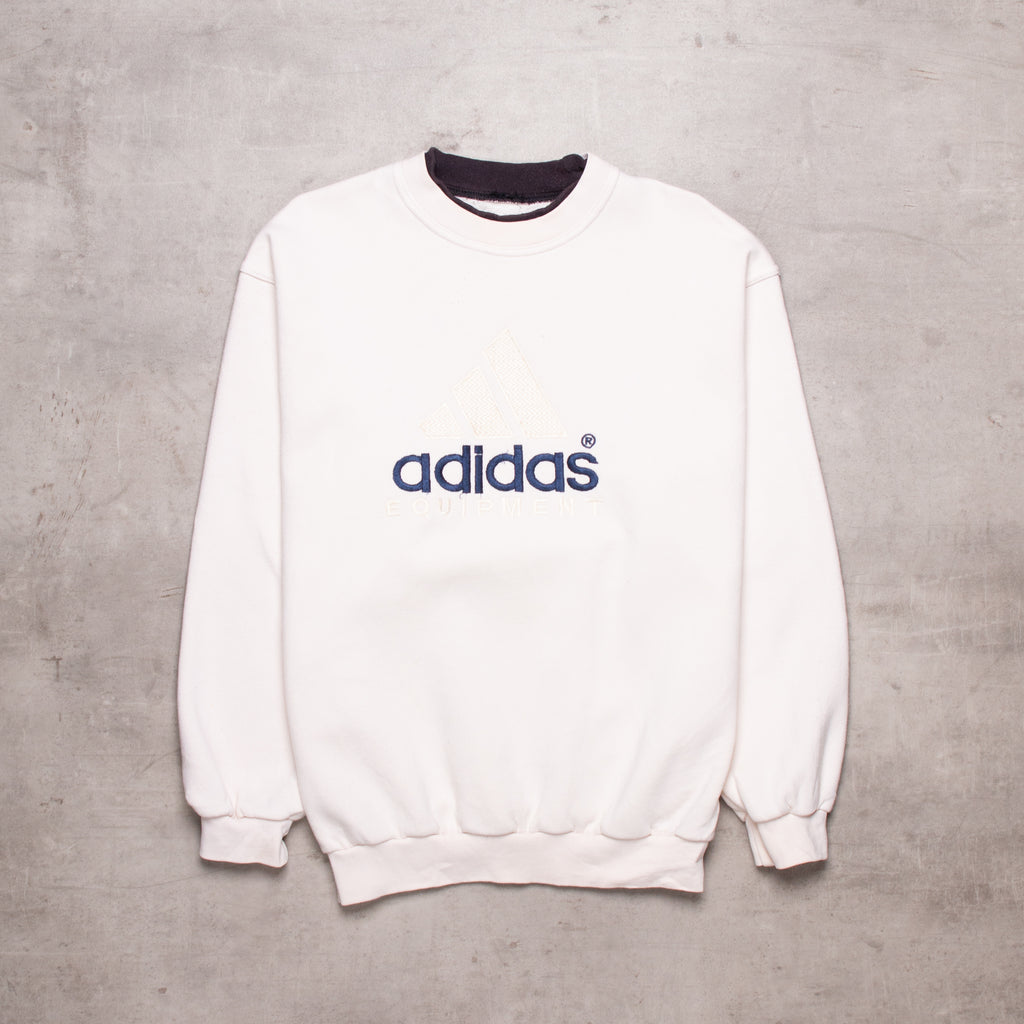 90s Adidas Equipment Spell Out Sweat (M)