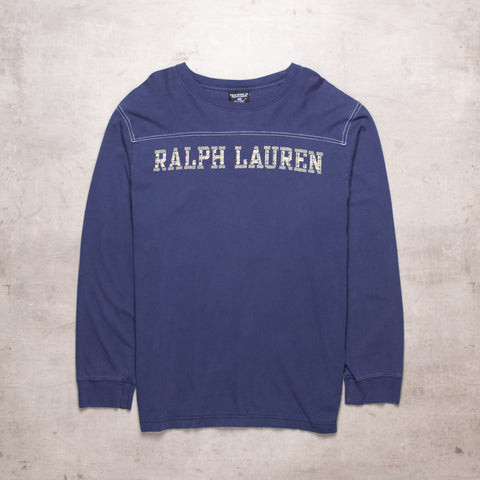 90s Ralph Lauren Spell Out Tee (XL)