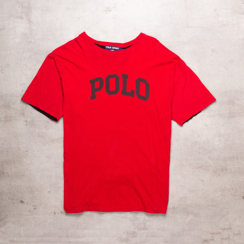 90s Polo Sport Spell Out Tee (XL)