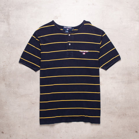 90s Polo Sport Striped Tee (M/L)