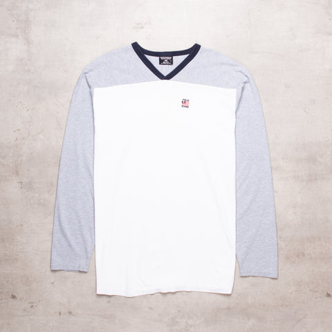 90s Ralph Lauren Contrast Long Sleeve (L)