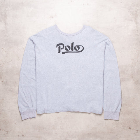90s Ralph Lauren Spell Out Long Sleeve (L)