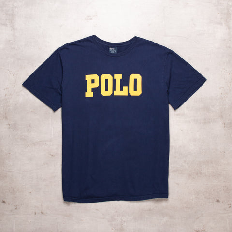 90s Ralph Lauren Spell Out Tee (L)