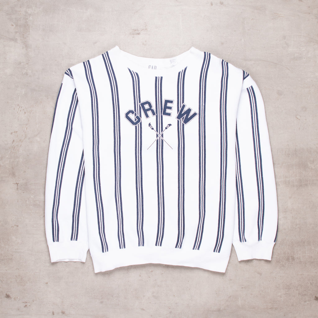 Vintage GAP Striped Sweat (XL)