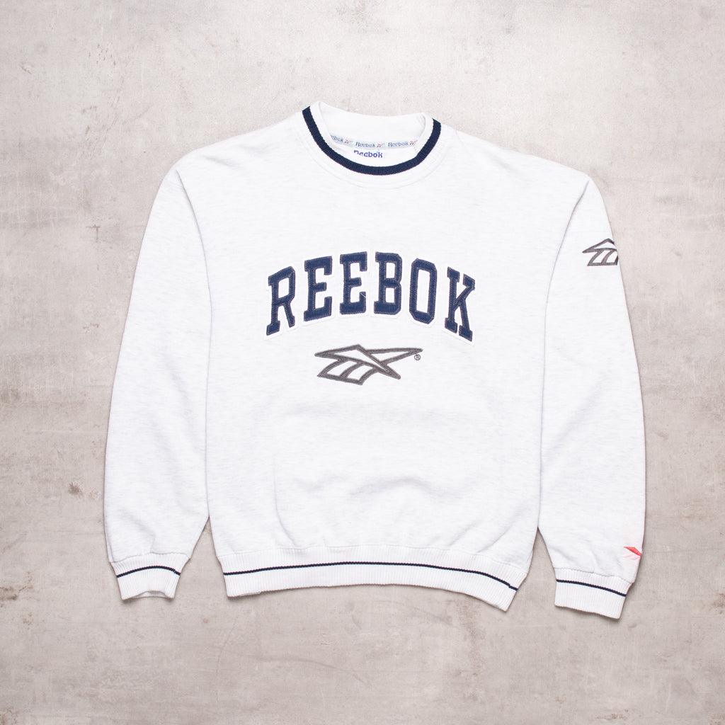 90s Reebok Spell Out Sweat (M)