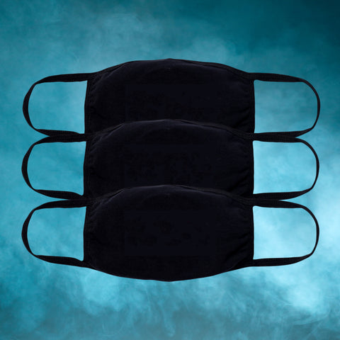 Blank Face Mask (3 - PACK)