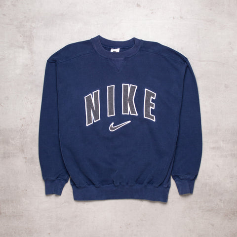 90s Nike Big Spell Out Sweat (M)