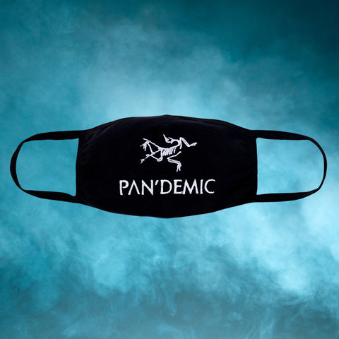 Pandemic Embroidered Face Mask