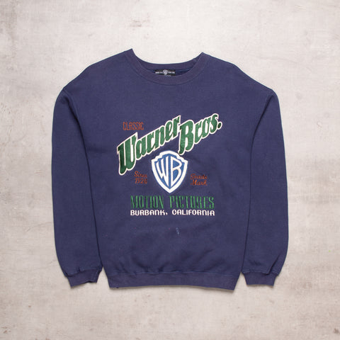 '95 Warner Bros. Spell Out Sweat (S / M)