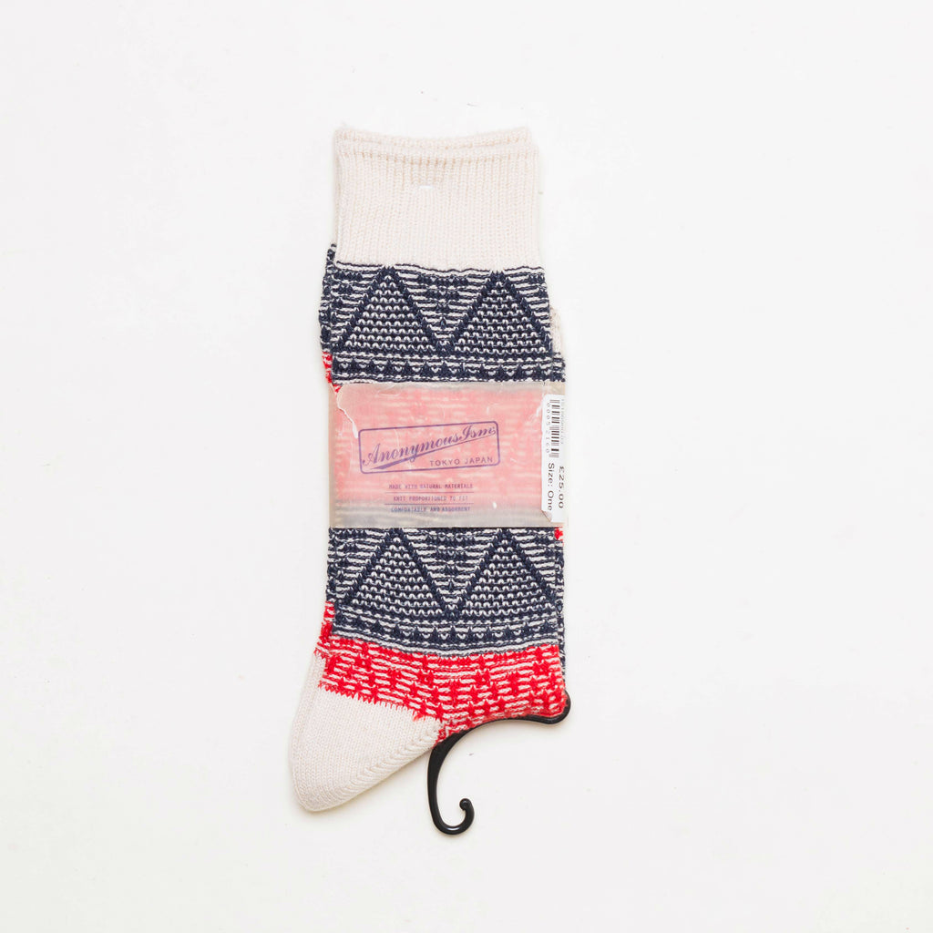 FRESH Anonymous Ism Woven Triangle Socks