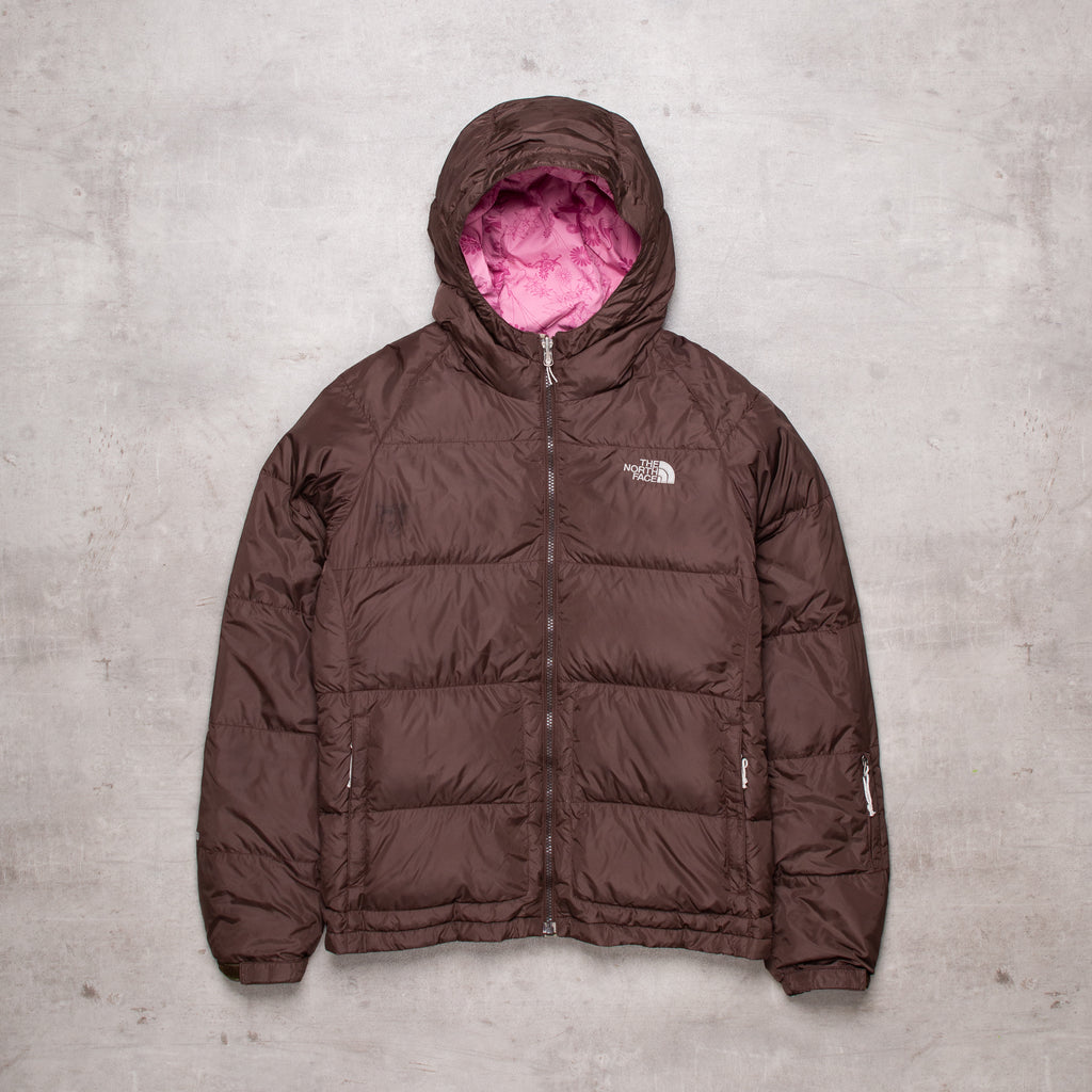 Vintage The North Face Brown Puffer (Ladies L)